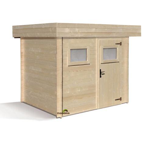 Abri de jardin bois Mikki 19mm - 4,84m²