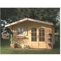 Abri de jardin Chamonix 13 m² - Option: Sans plancher
