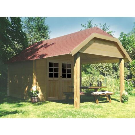 Abri de jardin CORK 2980X2980+2654