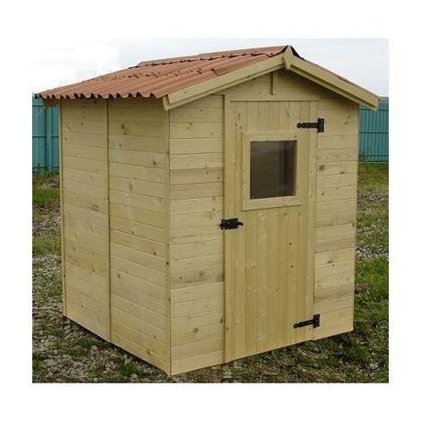 Abri de jardin en bois 3.55 m²