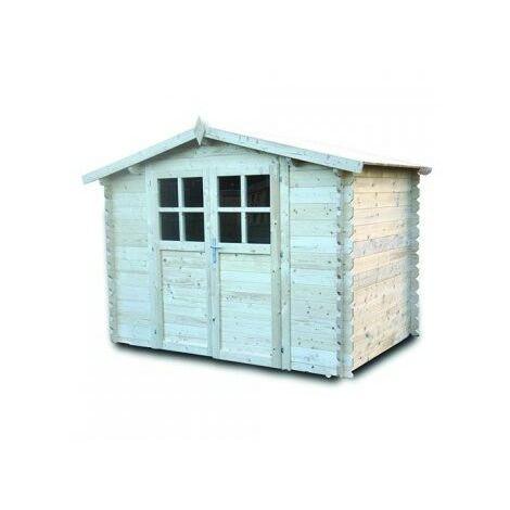 Abri de jardin en bois AZUR 6 m²