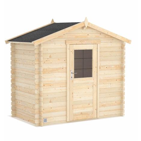 Abri de jardin en bois brut Victoria 3,7 m2 - Forest-Style