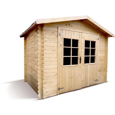 Abri de jardin en bois CALAO 5,1 m2 - 19 mm