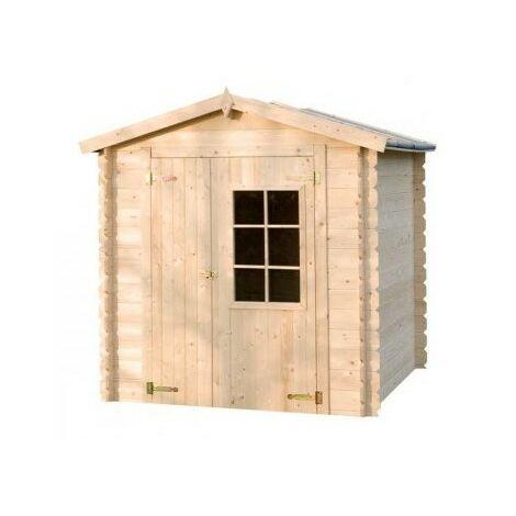 Abri de jardin en bois CALYPSO 4 m²