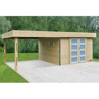 Garage Bois Toit Plat 40m2 à Prix Mini