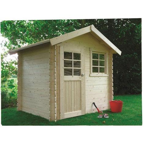 Abri de jardin Laval - Option: Avec plancher - Traitement autoclave: Oui