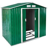 Abri de jardin métal 2,7 m² toiture 2 pans