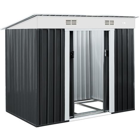 Abri De Jardin Metal 3 35m Cabane De Jardin Rangement Velos