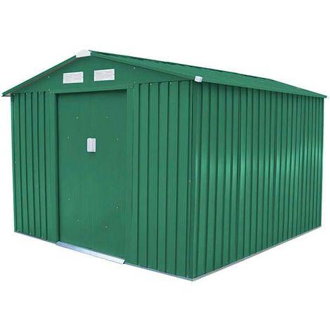 Abri de jardin métal 5,75 m2. + kit d'ancrage inclus