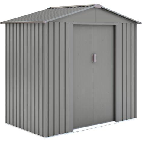 Abri de jardin métal LMJ 2,5 m² - Galvanisé à chaud - 810181