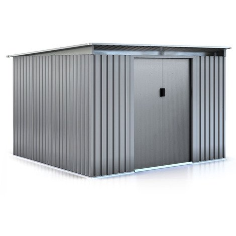 "Abri de jardin métal ""Texas"" - 6,29 m²"