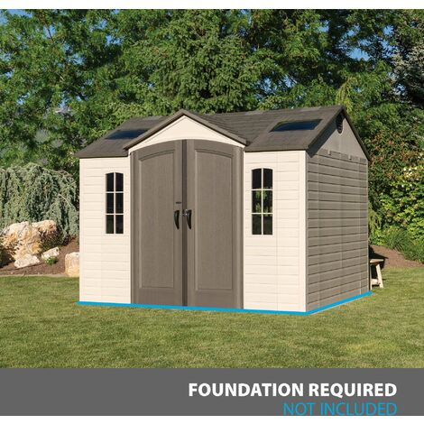 Abri de jardin PVC Element 60005 - 7,44 m²