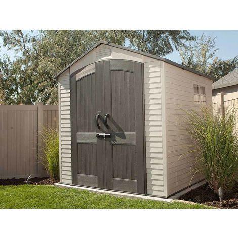 Abri de jardin PVC Landmark 4,54 m² - Lifetime