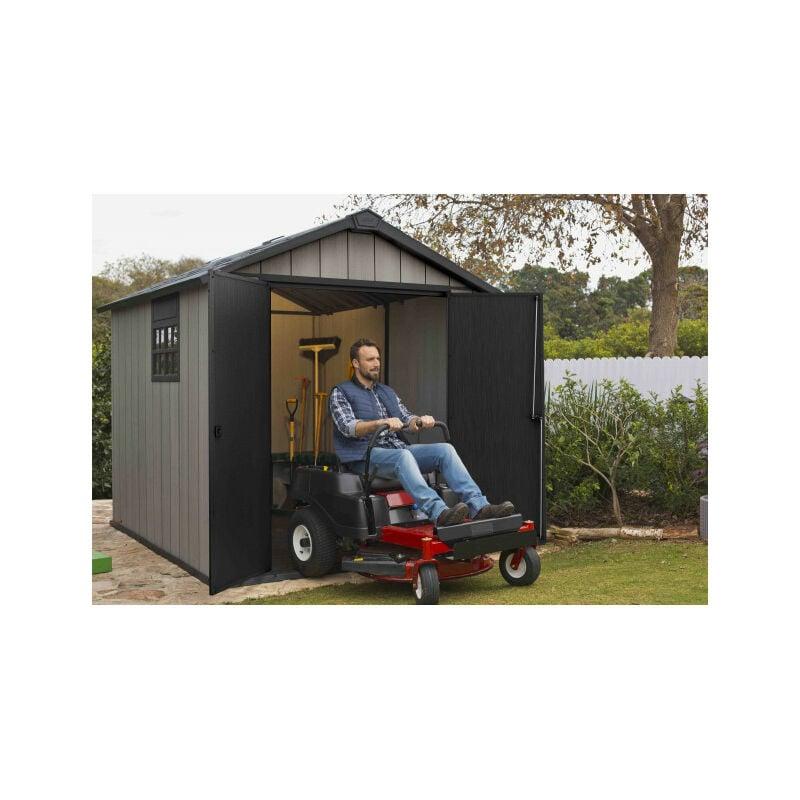 détaillant en ligne 305e0 ada79 Abri de jardin résine 6,5 m2 avec plancher - Brossium