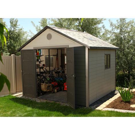 Abri de jardin résine Lifetime - 2.44 x 1.52 m - 3.71 m2