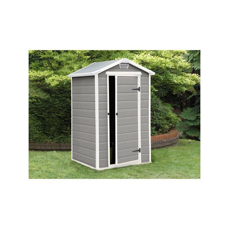 Abri de jardin Résine Premium 46 Gris - 2 m²