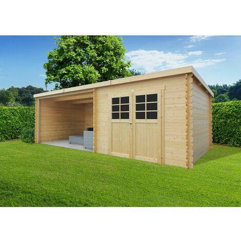 Abri de jardin ROHAN 2980 x 2980 + 3611