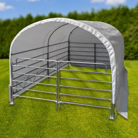 "main image of ""Abri de prairie mobile 2 x 3 m - chevaux / bovins"""
