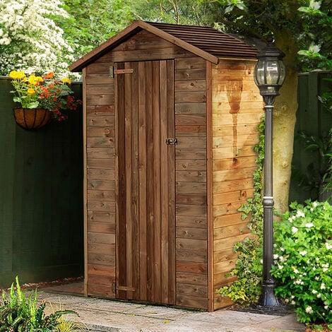 Abri de rangement en bois Chloé 1.05 m²