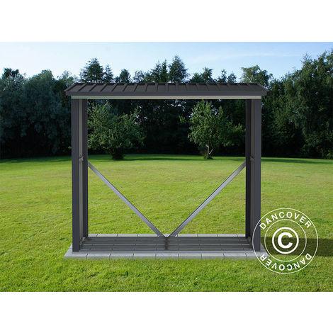 Abri de stockage pour bois, 1,82x0,89x1,56m ProShed®, Anthracite