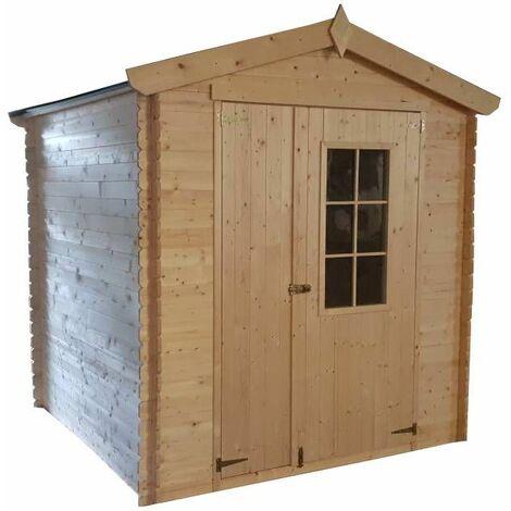 Abri en bois CALYPSO 4,5 m²