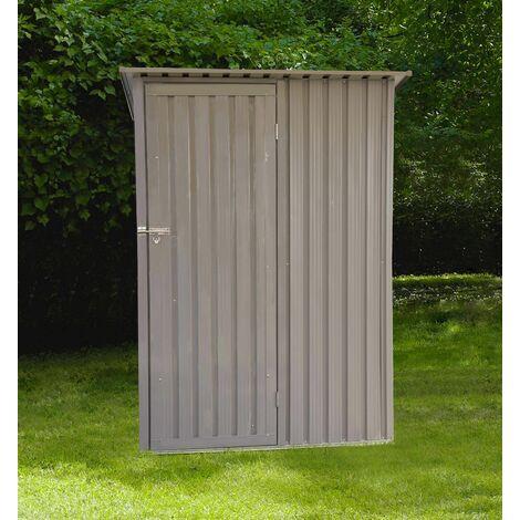 Abri en métal monopente - 1,27 m²