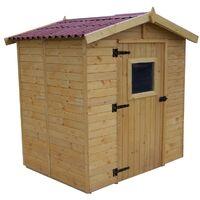 Abri en panneaux de bois - 2,46 m²