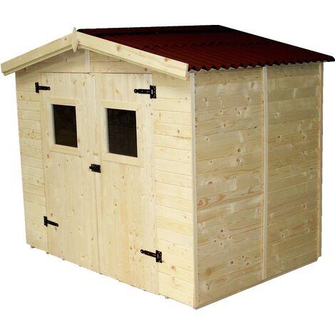 Abri en panneaux de bois - 3,70 m²