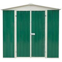 Abri métal toit 2 pentes - 2,39 m²