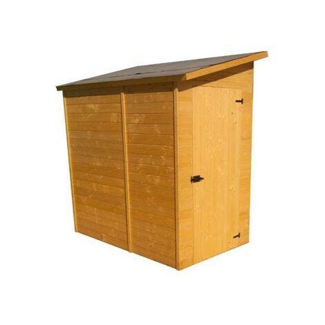 Abri mural bois range 2.27 m²