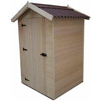 Abri panneaux bois 16 mm avec plancher / 1,35 m2