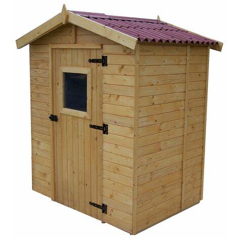 Abri panneaux bois 16 mm avec plancher / 1,83 m2