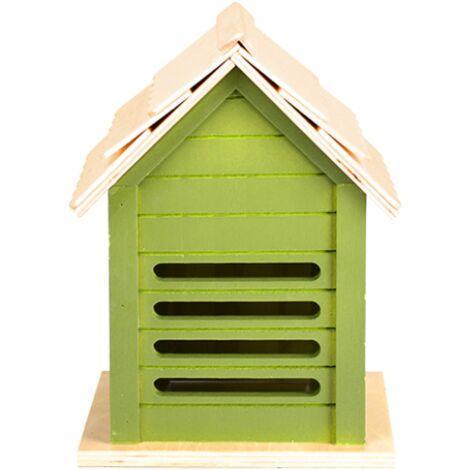 Abri pour coccinelles - L 14,3 x l 15,7 x H 21,2 cm - Vert