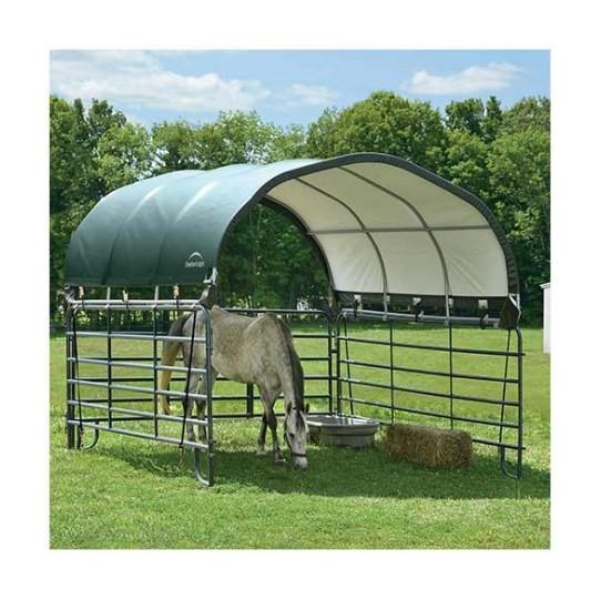 abri souple pour box animaux 13 7m 51523. Black Bedroom Furniture Sets. Home Design Ideas
