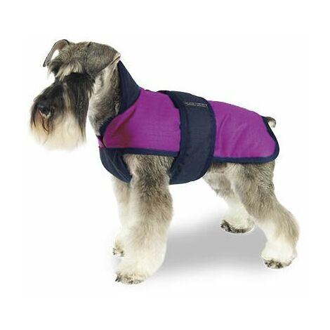 Abrigo - Capa para perros impermeable Confor Color Rosa y Negro disponible en varias tallas