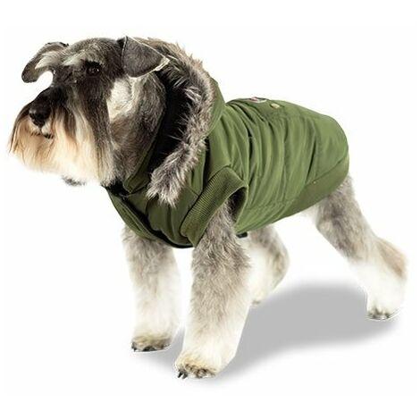 Abrigo impermeable para perros Breathe Comfort colores llamativos con reflectantes, disponible en varias tallas