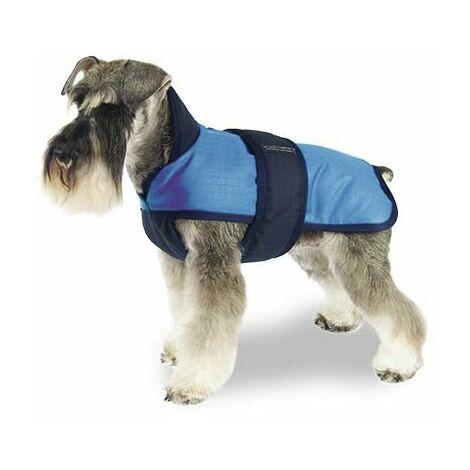 Abrigo para perros Capa +Zip Breathe Comfort Azul disponible en varias opciones