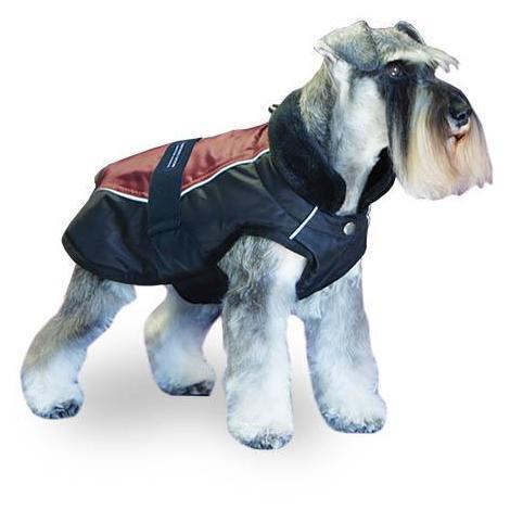 Abrigo para perros + Trek Breahte Comfort Colores Negro y Vino disponible en varias opciones