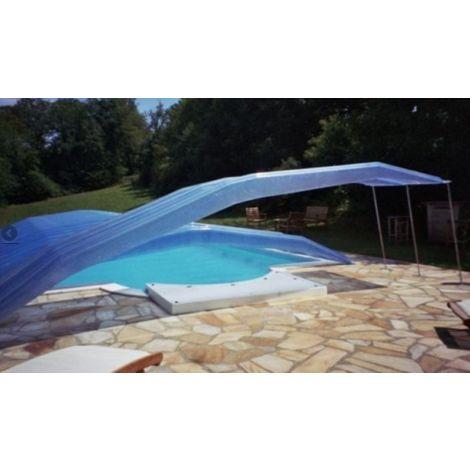 Abris pour piscine 5m x 10m