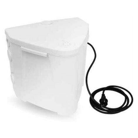 ABS Hebeanlage Schmutzwasserhebeanlage Sanimax MF 154 mit Pumpe und Rückschlagklappe 07565127