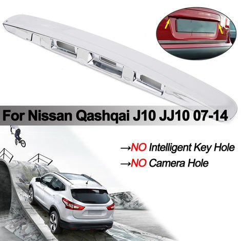 ABS Plated Cover Handle For Nissan Qashqai J10 JJ10 07-14 Rear Luggage Box
