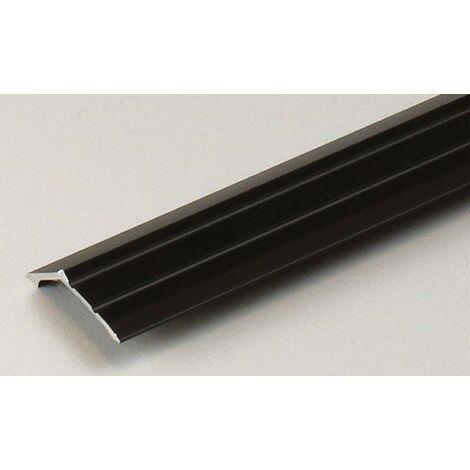 """Abschlussprofil / Abschlussleiste Laminat """"Huntsville"""", Einfasshöhe: 8.5 mm / 15.5 mm, Aluminium eloxiert, gebohrt / selbstklebend"""