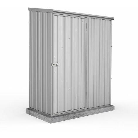 Absco Metal Shed 1.52m x 0.78m - (Zinc)