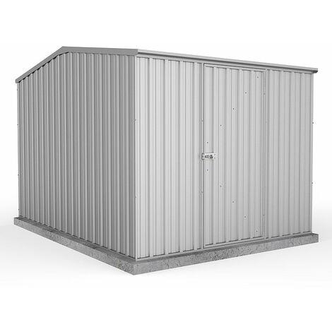 Absco Metal Shed 2.26m x 3m - (Zinc)