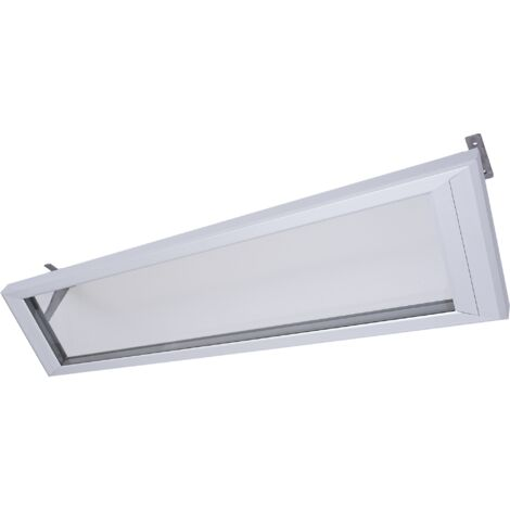 Absolutely transparent glass panel infrared heater