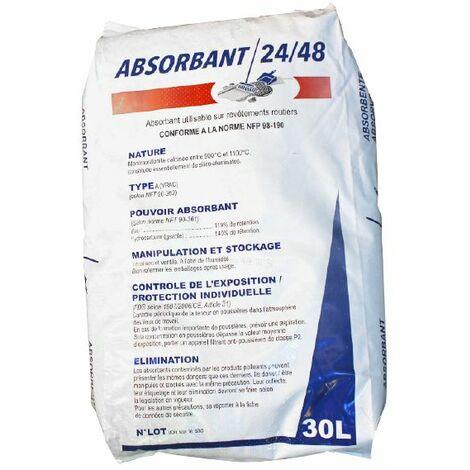 Absorbant eau et hydrocarbure en sac de 30 litres