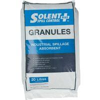 Absorbent GRANULES; Clay 20LTR Bag