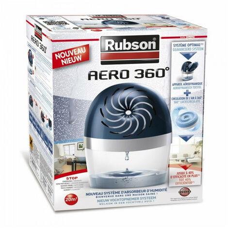 Absorbeur d'humidité Aéro 360° 20m² de Rubson