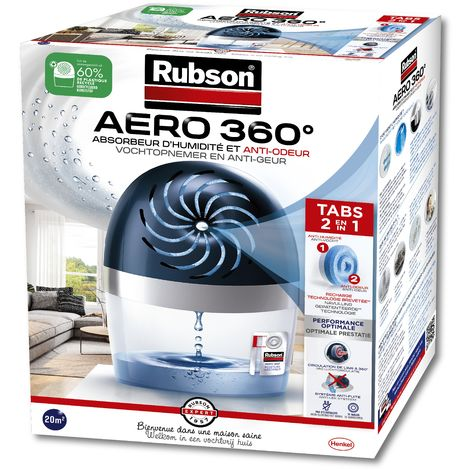 Rubson Absorbeur d'humidité Aero 360° 20m²