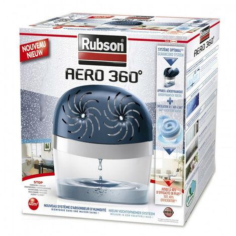 Absorbeur d'humidité Aéro 360° 40m² de Rubson